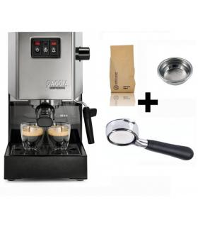 GAGGIA Classic Οικιακή Μηχανή Espresso & Coffee Set 2