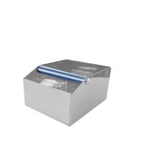 Barista Shop Knock Box Stainless Steel Large