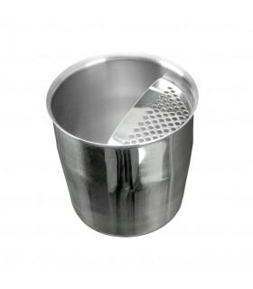 Κοντό Σκεύος Inox Με Σίτα 400ml - Κυπελοσυλλέκτης Καφέ