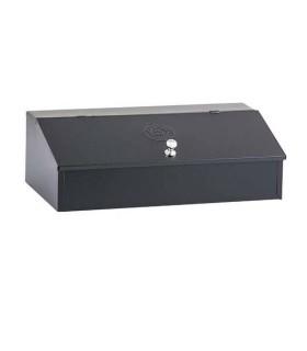 Coffee Box Stainless Steel Black 3 Storage