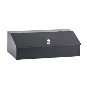 Coffee Box Stainless Steel Black
