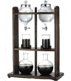 Tiamo Ξύλινο Cold Brew Coffee Dripper Tower 20cups