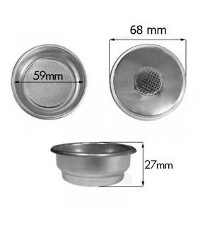 Pressurized Double Filter Basket for Gaggia 14gr - 58mm
