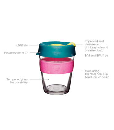 KeepCup Alder Brew 12oz/340ml Οικολογικό Ποτήρι Καφέ