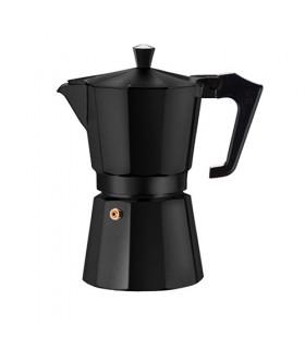 Pezzetti Italexpress Καφετιέρα Μόκα Εσπρέσο Μαύρη 3 Φλιτζάνια
