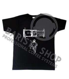 Barista Shop Aero Barista T-shirt - Μπλουζάκι Μαύρο