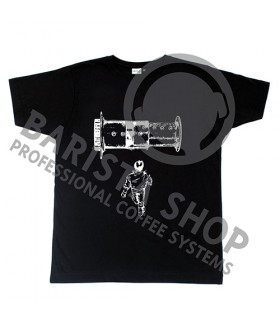 Barista Shop Aeropress Barista T-shirt - Μπλουζάκι Μαύρο