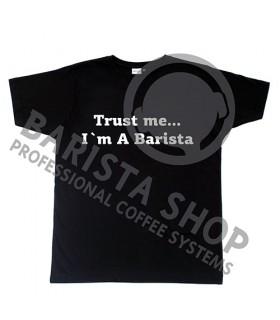 Barista Shop Trust me T-shirt - Μπλουζάκι Μαύρο