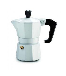 Pezzetti Italexpress Moka Espresso Coffeemaker White 3 Cups