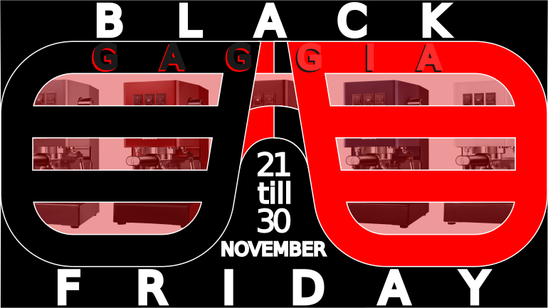 Gaggia Black Friday